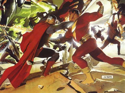 superman vs captain marvel shazam superman ilium gazette