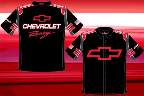 chevy racing pit crew shirt