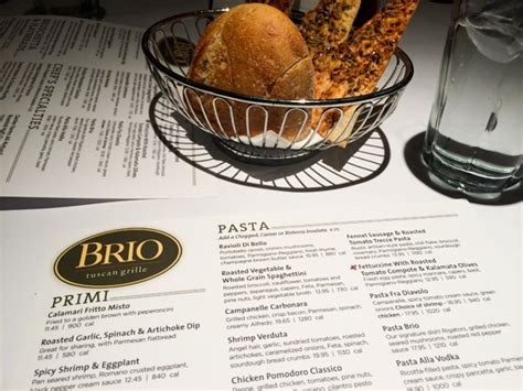 brio calories brio tuscan grille at irvine spectrum cupcakes and cutlery