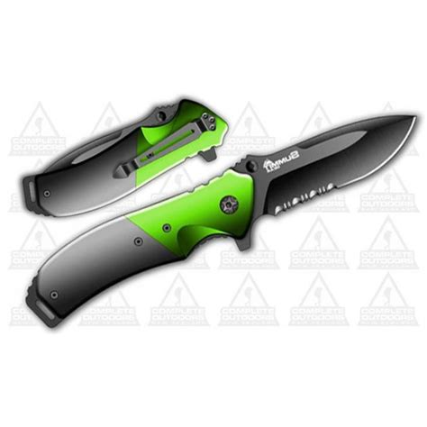 x gear pocket knife summit gear 3 3 quot pocket knife green grey