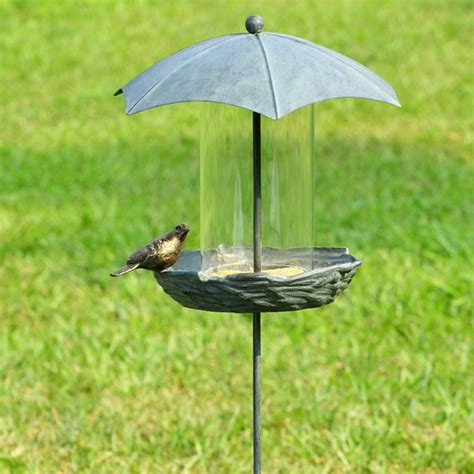 Bird Feeder Umbrella umbrella bird feeder eclectic bird feeders atlanta by iron accents