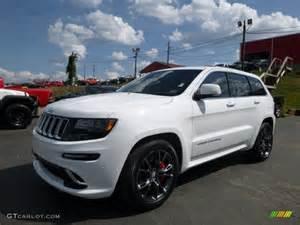 2014 bright white jeep grand srt 4x4 106985262