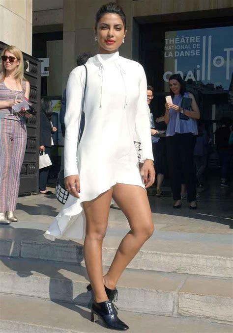 priyanka chopra fashion show video priyanka chopra wears haute couture to the giorgio armania