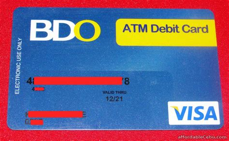 how to make atm card how to activate new bdo atm card banking 29690