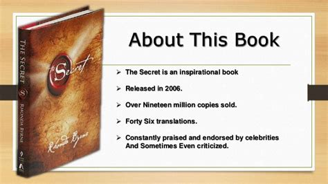 secret books the secret book review