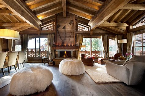 wood home interiors chalet les gentianes luxury retreats