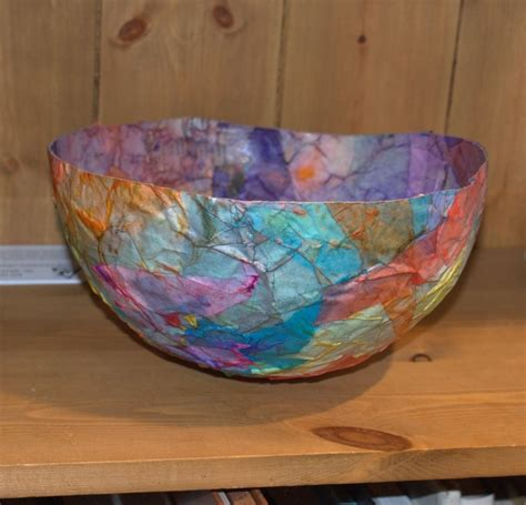 paper bowl crafts paper mache bowls crafts