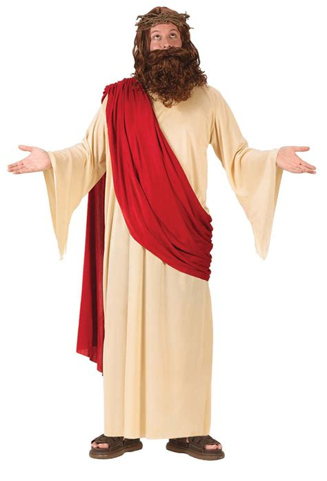 Jesus Wardrobe by Jesus With Wig And Beard Costumes