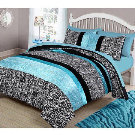 your zone teal animal bedding comforter set walmart com