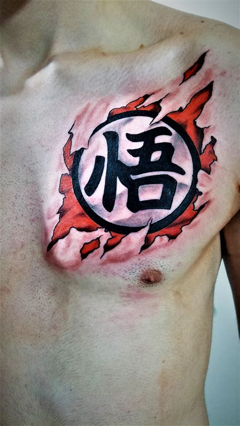 tattoo ball goku www pixshark images