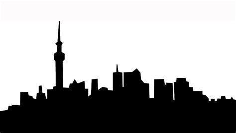 New York Skyline Silhouette Vector Free Clipart Best