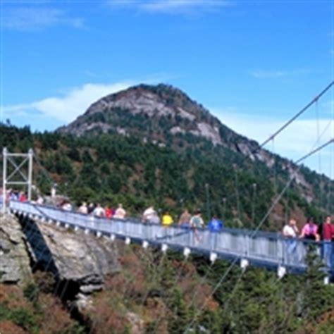 mile high swinging bridge blowing rock nc grandfather mountain bridge www pixshark com images