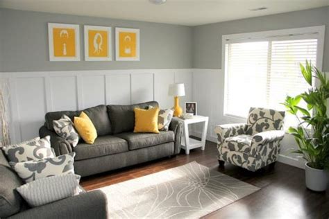 yellow and gray living room 29 stylish grey and yellow living room d 233 cor ideas digsdigs