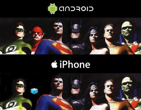 difference between iphone and android the difference between android and the iphone