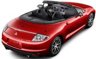 Mitsubishi Convertible Models Mitsubishi Eclipse Spyder Reviews Research New Used