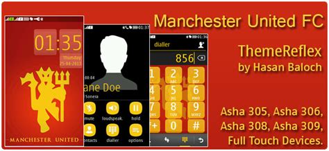 themes nokia x2 manchester united manchester united themereflex