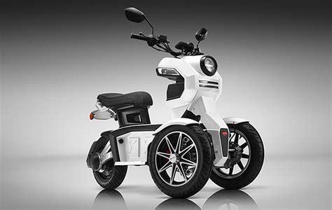 doohan ev itank electric  wheel urban crossover scooter