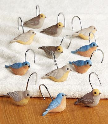 bird shower curtain hooks collections etc find unique online gifts at