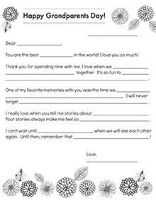 Grandparents Day Printables More Certificates