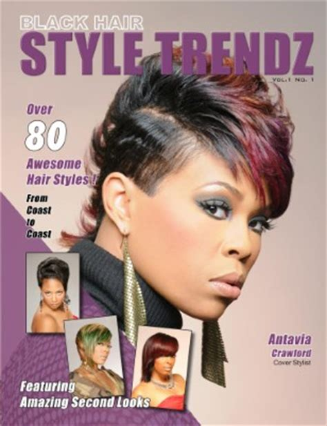 Hair Style Magazine by Collection Black Hair Style Trendz Magcloud