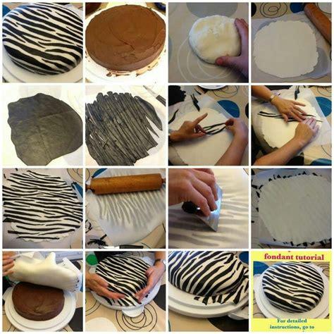 zebra pattern fondant cakes zebra and leopard print fondant cake dessert time