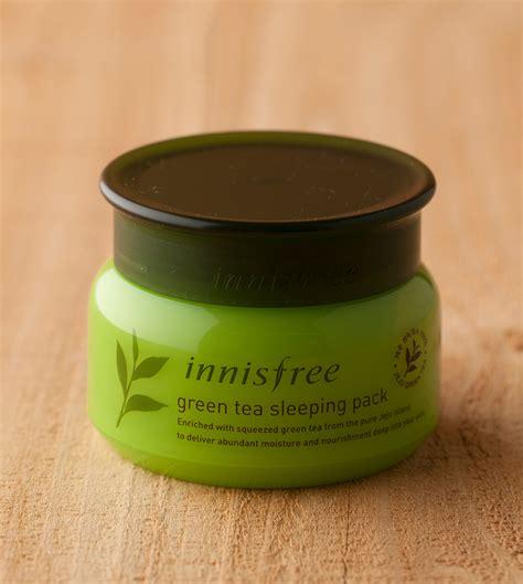 Innisfree Greentea Sleeping Pack skin care green tea sleeping pack innisfree