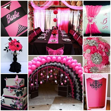 themes for xv party barbie quinceanera sweet fifteen theme quince candles