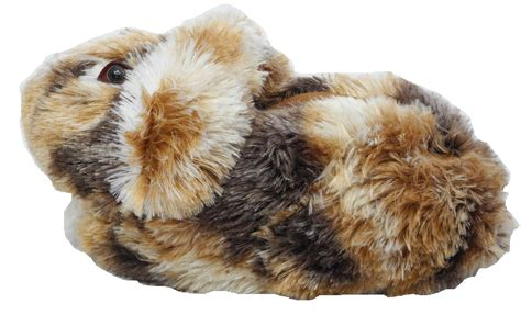 lapin house shoes boys ladies novelty fur bunny long lop ear rabbit animal slippers adult size 3 9 ebay