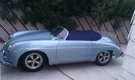 porsche 356 replica 1957 porsche speedster replica beck classic replica kit