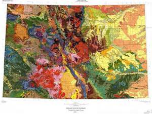 colorado geological map geologic map of colorado cartographer s daydream