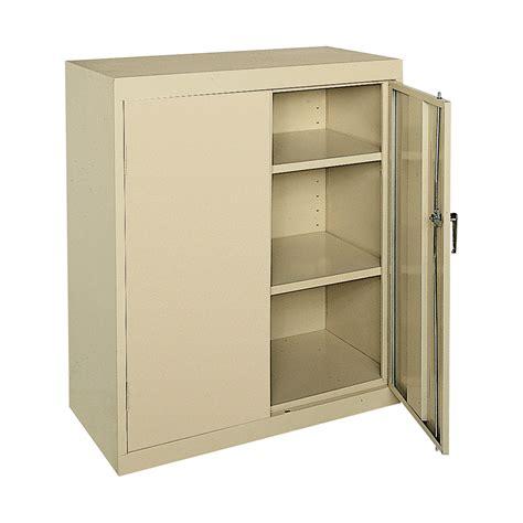 Sandusky Storage Cabinet Sandusky Commercial Grade All Welded Steel Cabinet 36in W X 18in D X 42in H Northern