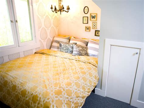 gray yellow bedroom photos hgtv
