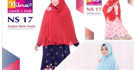 Baju Muslim Anak Ukhti 61 koleksi terbaru gamis nibras syar i ns 17