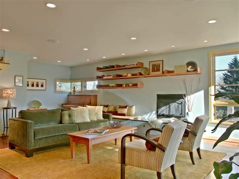 Light Blue Walls In Living Room by Bright Neiman Furniture In Living Room