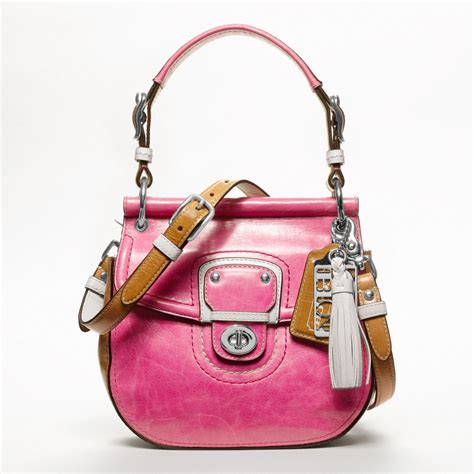 This Is A Coach Bag It Was Handcrafted In China - coach poppy collection handbags all handbag fashion