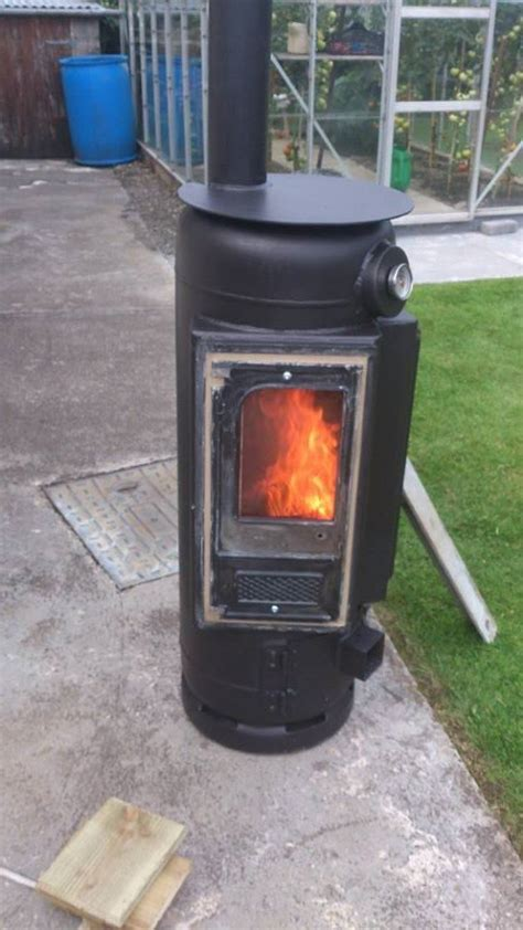 gas patio heater 10 gas bottle wood burner 49809 patio