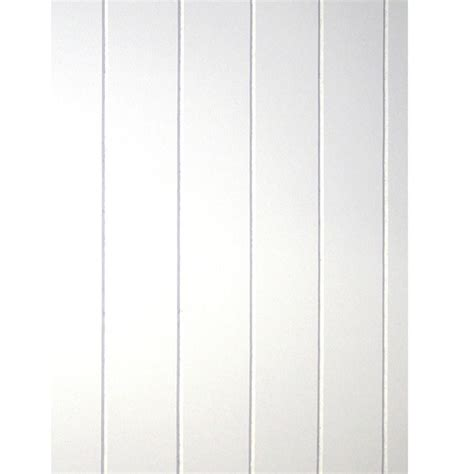 White Wainscoting Home Depot by 32 Sq Ft Beadboard White V Groove Panel 109693 The