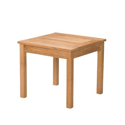 Light Brown Teakwood End Table