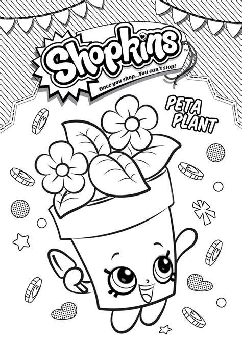 desenho de plantas desenho de shopkins planta para colorir tudodesenhos