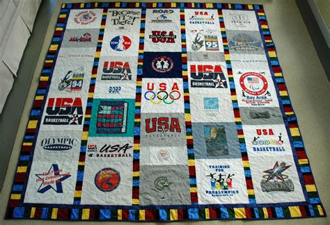 Handmade T Shirt Quilts - quilts goose tracks quilts