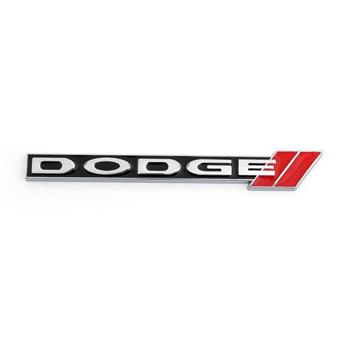 dodge badges 3d metal dodge front grill grille emblem dodge logo badge