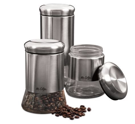 canisters interesting coffee canister set kitchen