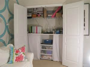 closet conversion home office eclectic with craft room closet