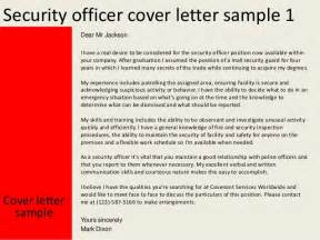 Computer Network Security Officer Cover Letter by Security Officer Cover Letter