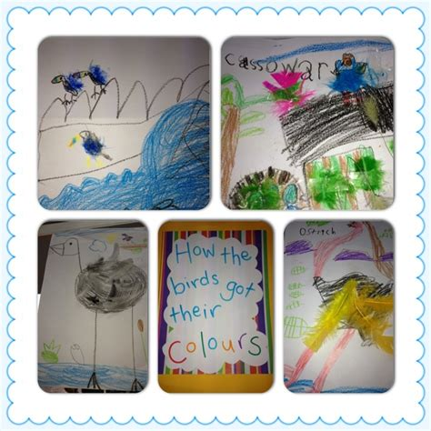 themes in dreamtime stories dreaming story how the birds got their colours for