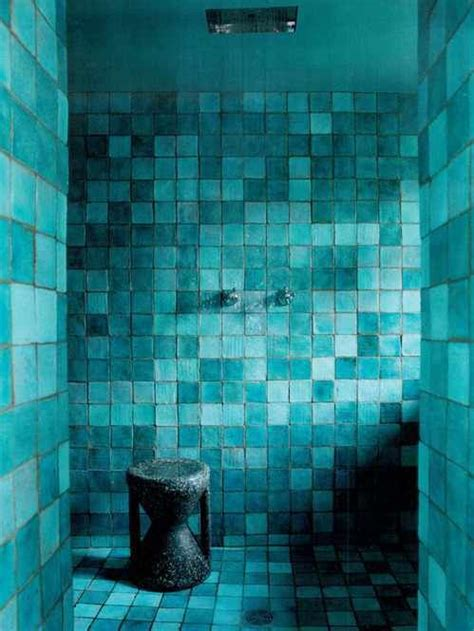 turquoise tile bathroom 36 cool turquoise home d 233 cor ideas digsdigs