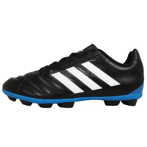 adidas goletto v hg j ground cleats black blue youth soccer shoes b25825