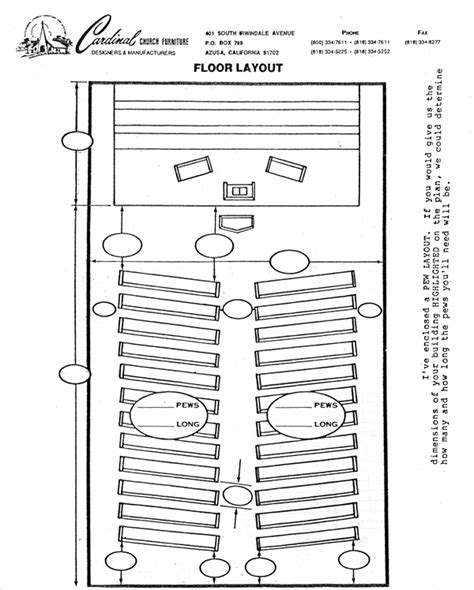 church floor plans free free sle small church layouts studio design