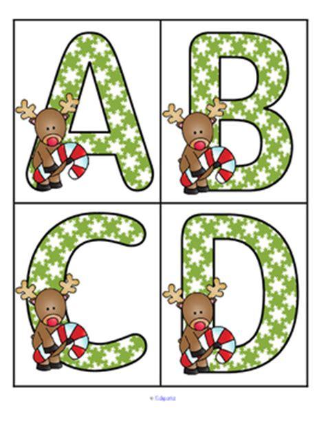 large printable christmas letters preschool christmas theme activities and printables