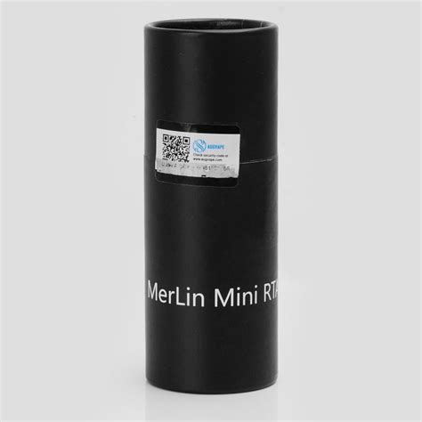 Rta Augvape Merlin Mini 24 Atomizer Authentic authentic augvape merlin mini rta silver 2ml 24mm rebuildable atomizer